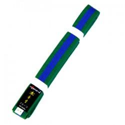 Cinto Kimura Verde c/lista...